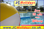 JCHolidays Private Vacation Rental Florida Villa, Just 15 min from Disney World, Florida